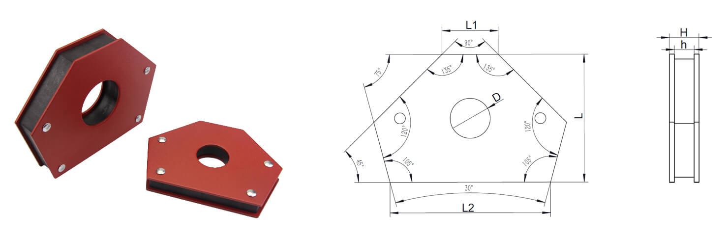 B Series-Welding Magnets