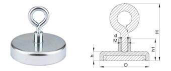 Ferrite Pot Magnets-D Series