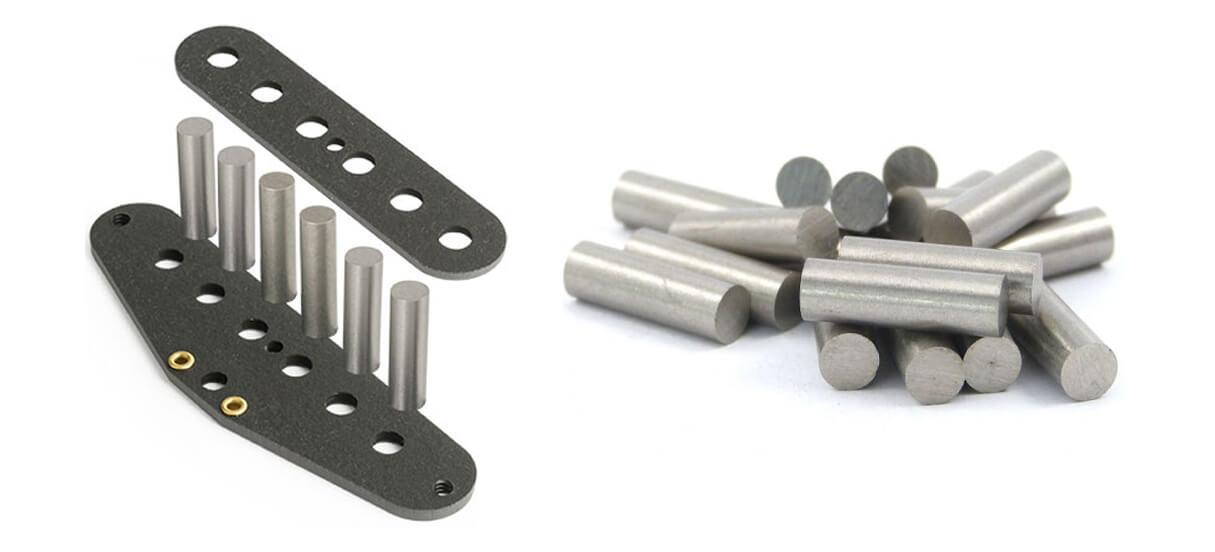 Gitarren Pickup Magnete-Zylinderform