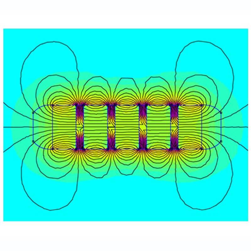 مغناطيس البقرة الفريت الحلقية الثقيلة -3