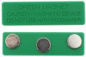 Crachás de nome magnéticos A-1