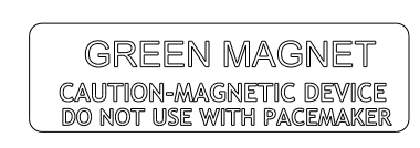 Crachás de nome magnéticos A-2