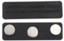 Crachás de identificação magnéticos B-1