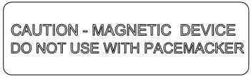 Crachás de identificação magnéticos B-2