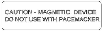Crachás de nome magnéticos H-2