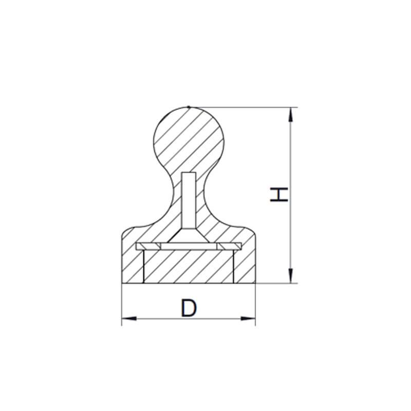 دبابيس مغناطيسية -2