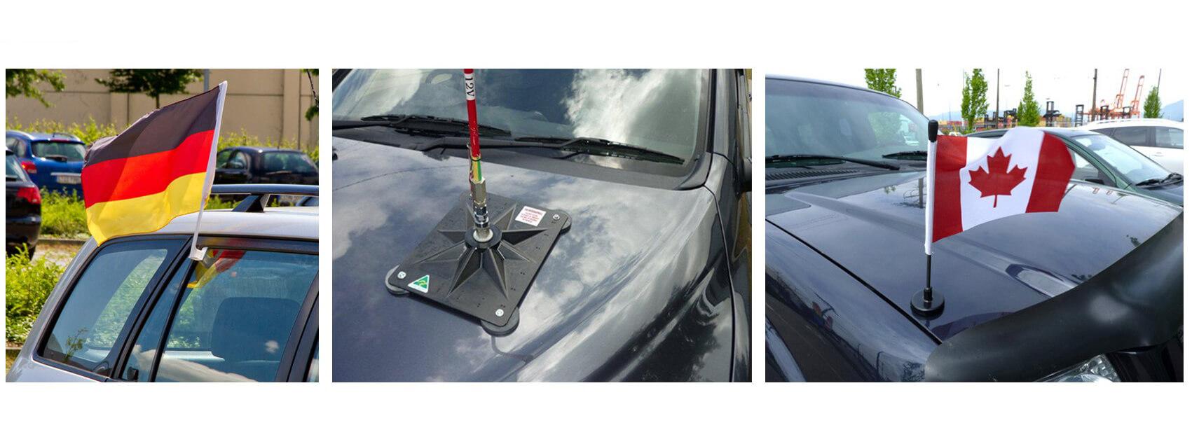 Bandeiras magnéticas de carros-1