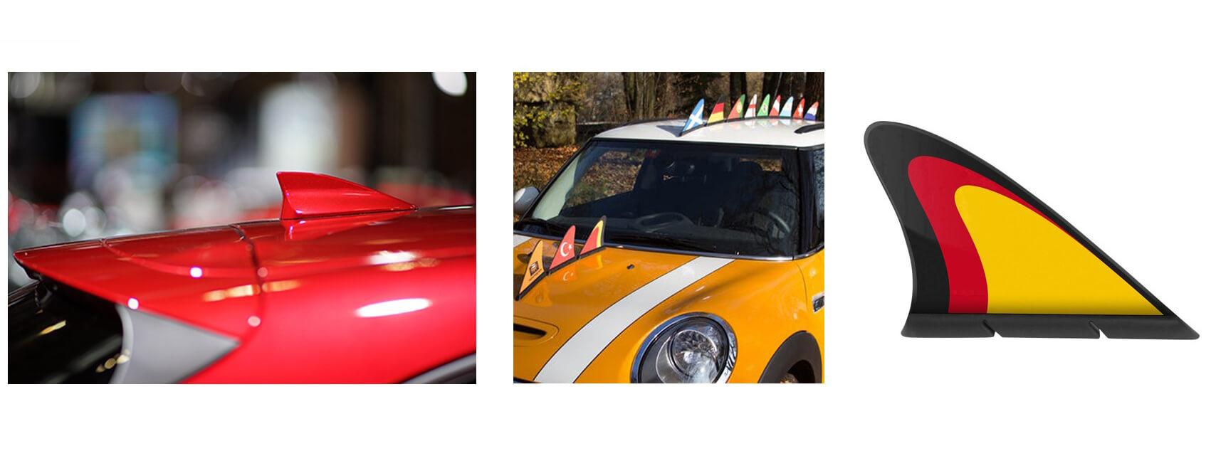 Bandeiras magnéticas de carros-2