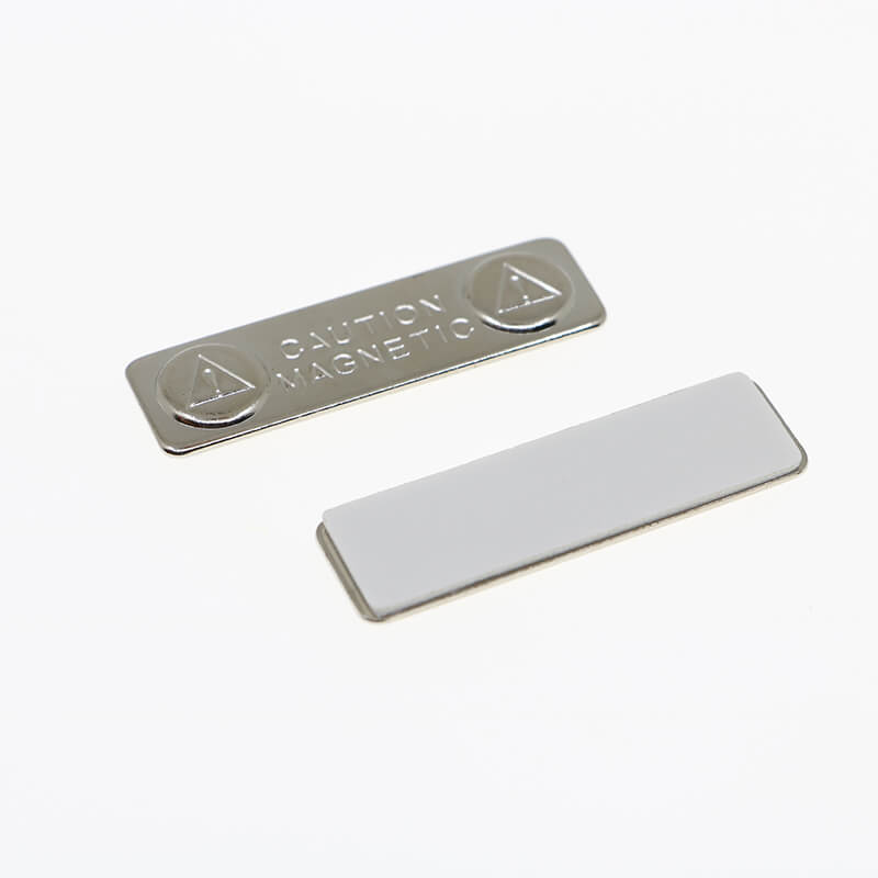 Tags de nome magnético de metal-2