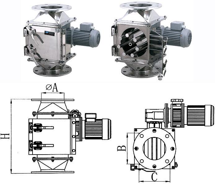Rotary Magnetic Separators