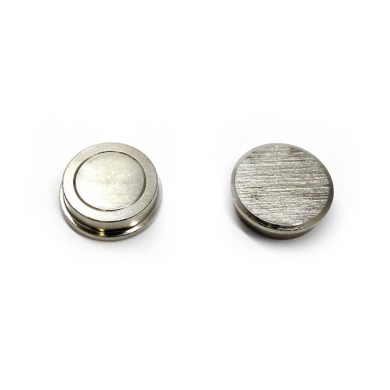 Silber Push Pin Magnete-1