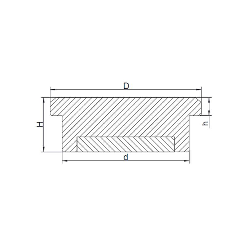 Silber Push Pin Magnete-2